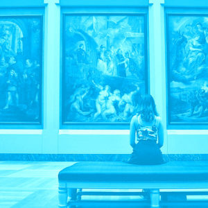 Can we visit museums online?