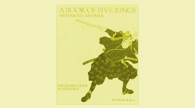 The book of the 5 rings of Miyamoto Musashi